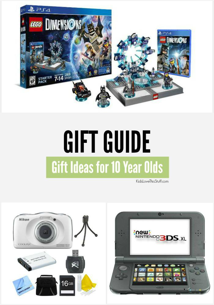 Gift Ideas For 10 Year Olds 15 Cool Birthdays And Christmas