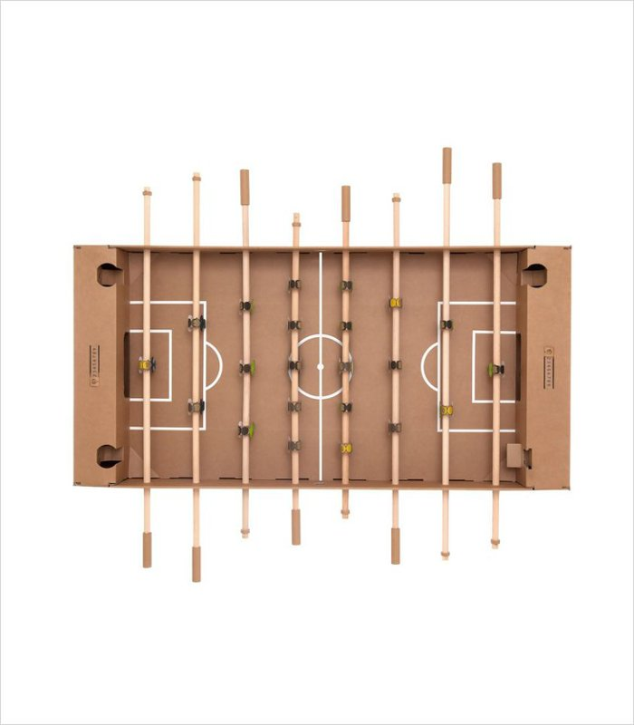 Gift ideas for 13 years old - cardboard table foosball
