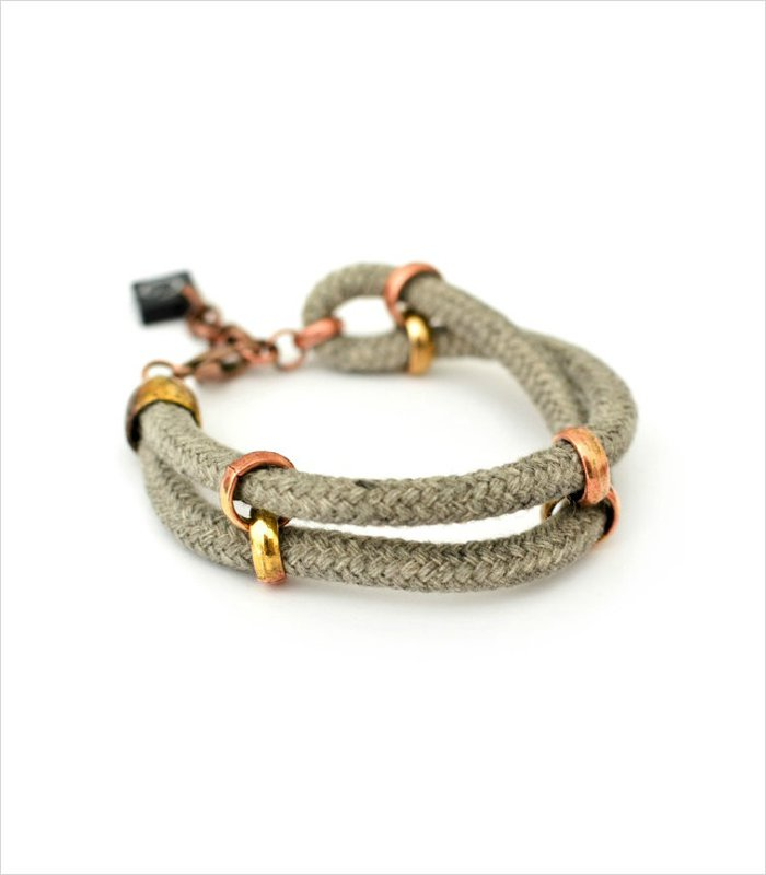 Gift ideas for 13 years old - handmade cord bracelet