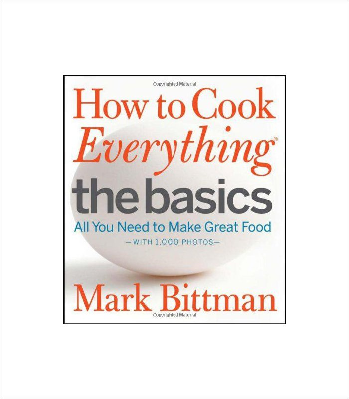 Gift ideas for 13 years old - how to cook everything the basics