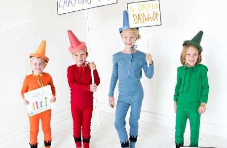 12 Cute and Non-Scary DIY Kids Costume Ideas for Halloween