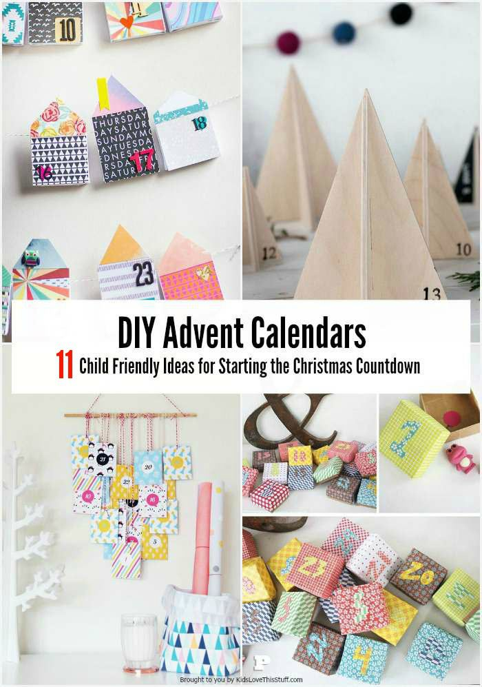 How many sleeps left until Christmas? 11 stylish DIY advent calendars to help you start the countdown the Christmas.