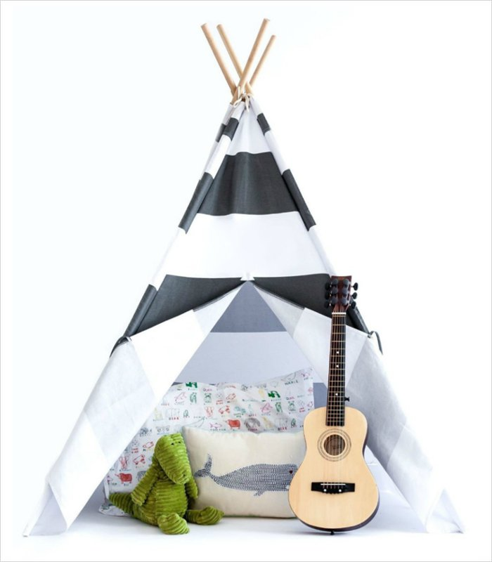 If they love building forts from furniture, cushions and blankets, then they'll love a teepee | Gift ideas for 5 year olds