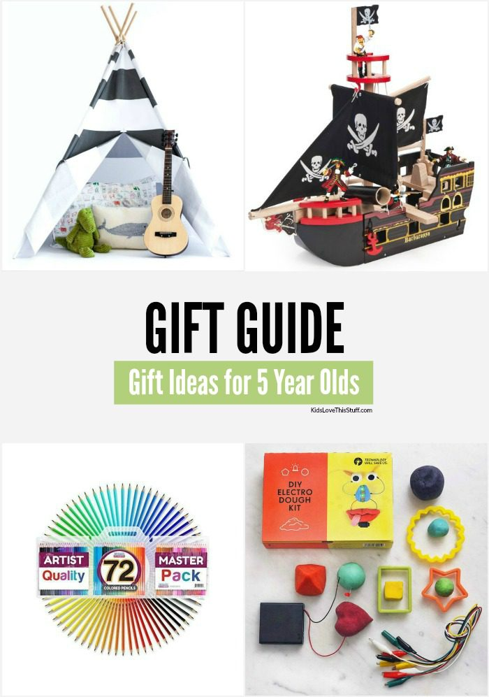 What are the best gift ideas for 5 year olds? Games and toys that bring out their imagination. Here's a fab and cool handpicked selection.