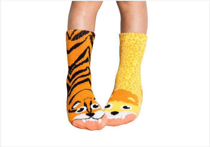 Gift ideas for 5 year olds - Mismatched animal socks2