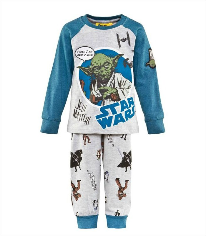Gift ideas for 5 year olds - Yoda pyjamas