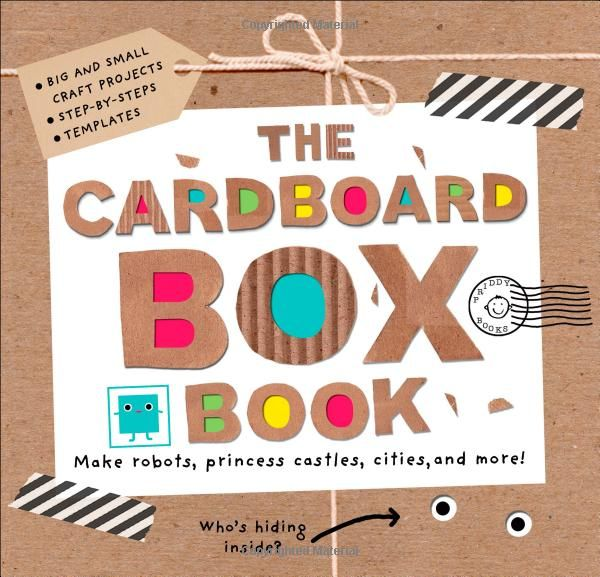 Gift ideas for 5 year olds - the cardboard box book