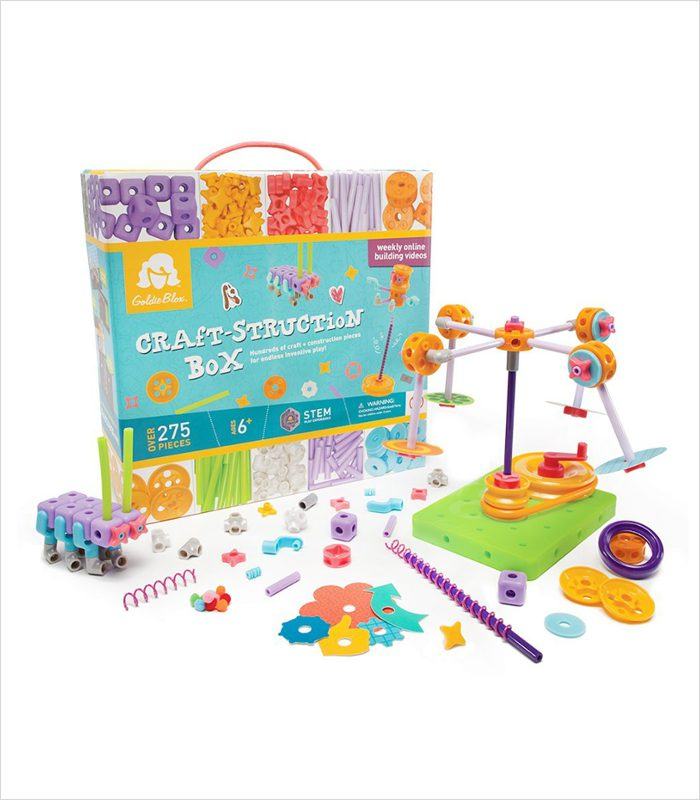 Gift ideas for 6 year olds - GoldieBlox Craft-struction box