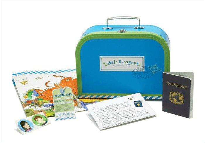 Gifts for 6 year olds - Little Passports World Explorer Kit