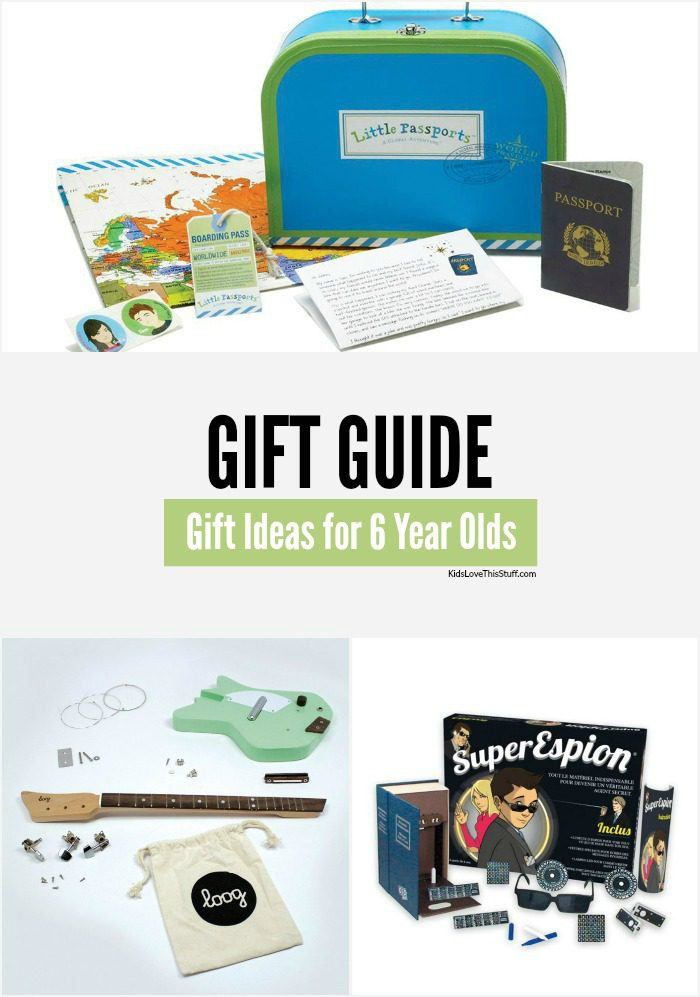 Best Gifts for 6 Year Olds: 17 Ideas for Birthdays and Chrisrtmas