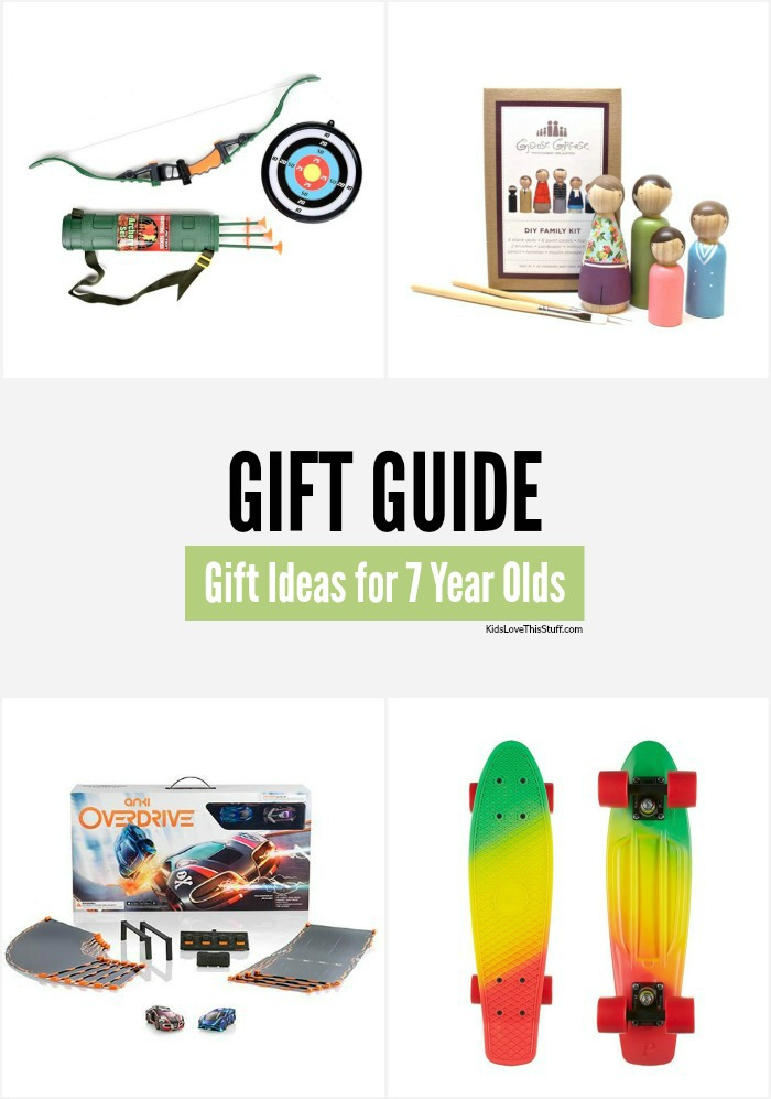 Gifts for 7 Year Olds: 16 Cool Ideas for Christmas 2015
