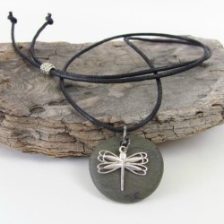 Gifts for 8 year olds - Dragonfly necklace and charm