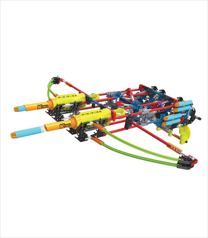 Cool gift ideas for 8 year olds - KNEX K-force dual cross building set