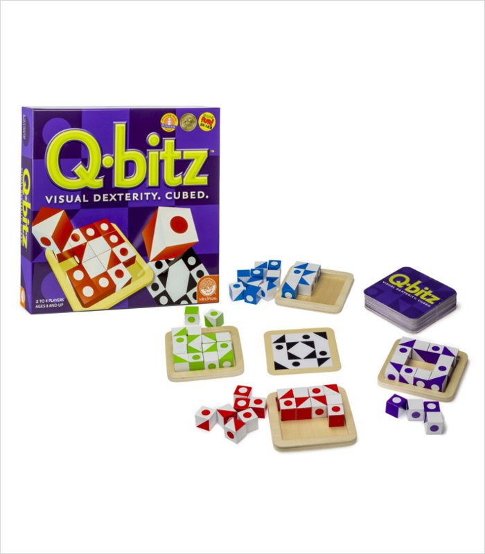 Another great gift for a smart 8 year old - Mindware Q-bitz
