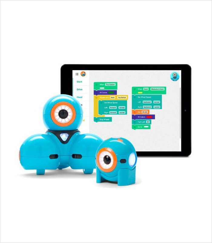 Gift ideas for 8 year olds - Wonder Workshop Dot and Dash bots make learning the basics of coding easy and fun.