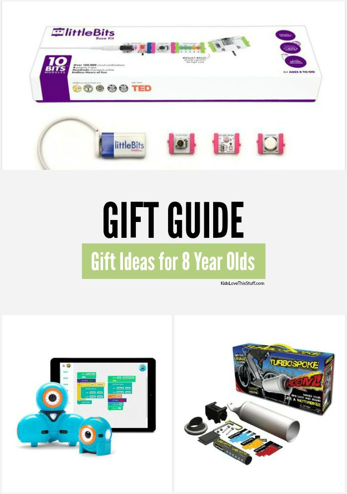 What sort of gift do you buy an 8 year old these days? Here's a list of great Christmas (and birthday) gifts for 8 year olds. It'll make shopping for them a little easier.