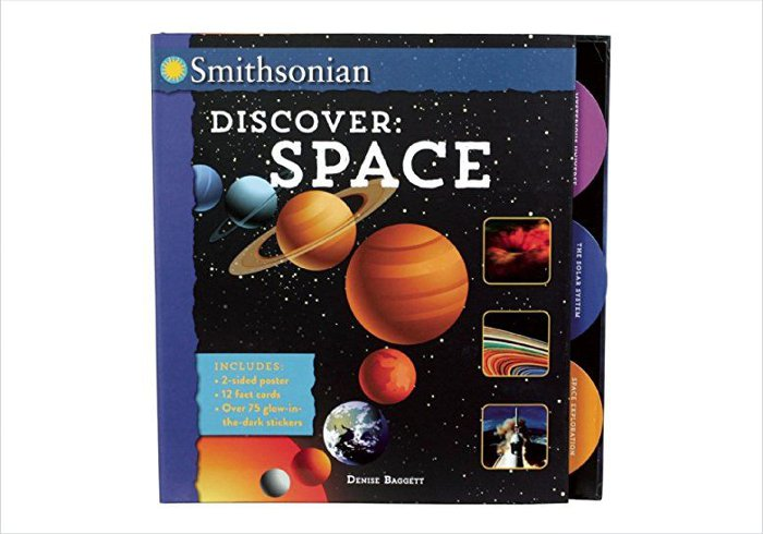 Gifts for 9 year olds - Smithsonian Discover Space book