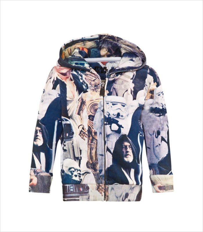 Gifts for 9 year olds - Vintage starwars photo print hoodie
