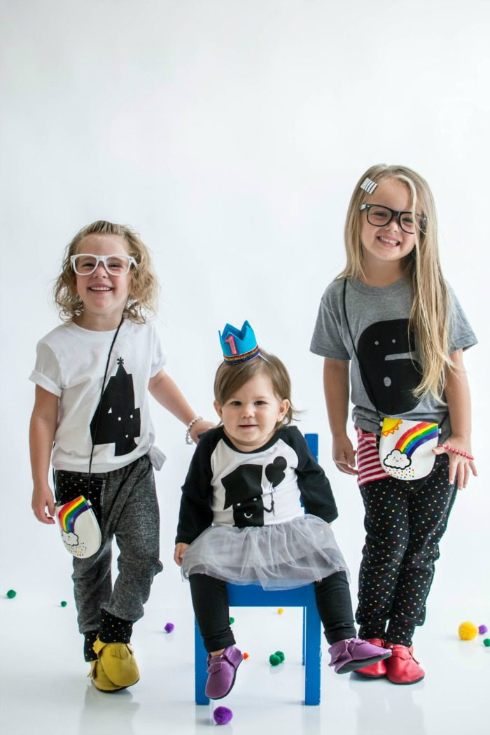 An adorable collection of toddler birthday shirts (well, they actually go up to age 6). Plus they're unisex.