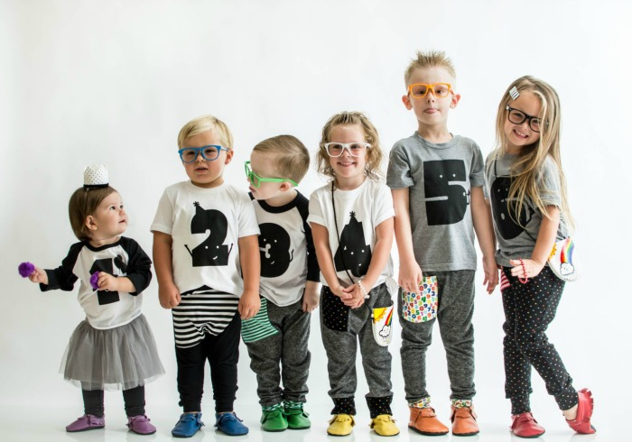 Toddler birthday shirts for kids aged 1 to 6 years