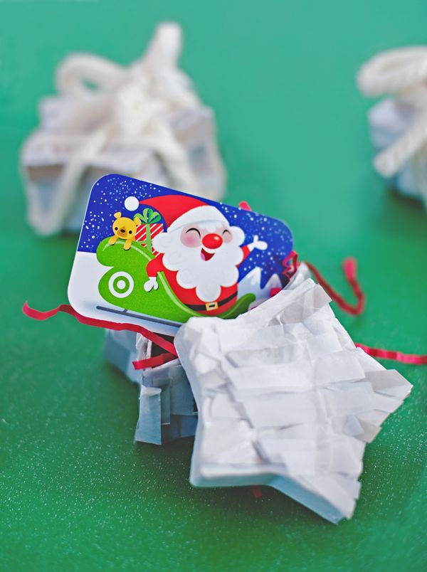 Make your own gift wrap - star pinata gift wrap