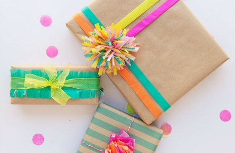 10 Cute & Crafty Ways to Make Your Own Gift Wrap with Kids