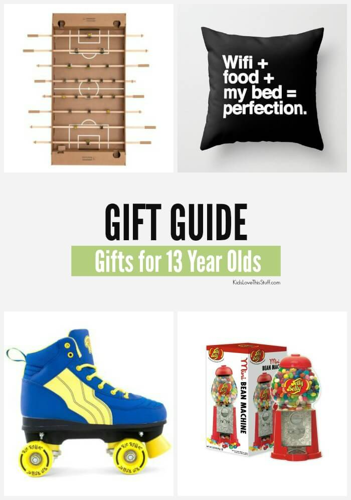 2016 Edition: 22 Gift Ideas for 13 Year Olds. Cool Stuff for Boys and Girls