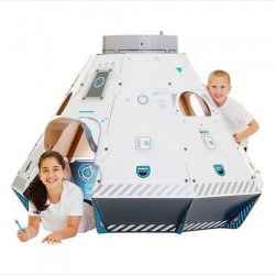DIY the Coolest Intergalactic Ride with Makedo's Cardboard Space Pod Kit