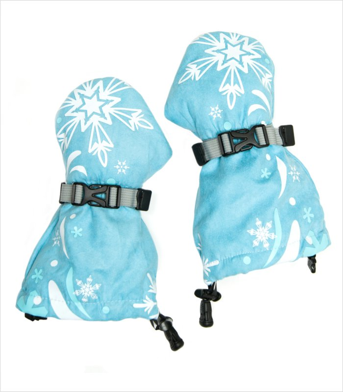 Mittyz thumbless gloves - snow princess mitts
