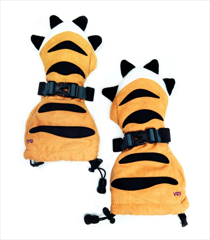 Mittyz thumbless gloves - tiger paw mitts