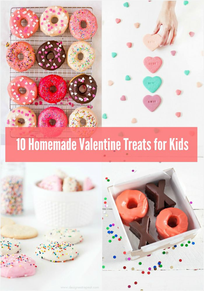 10 homemade valentine treats for kids