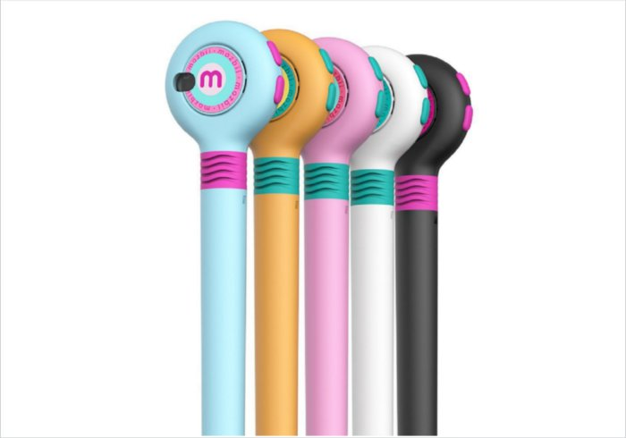 Smart tablet tech for kids: Mozbii color picking stylus - forget leaky felt-tip pens in bog-standard colors. Just point and grab vivid colors on the go.