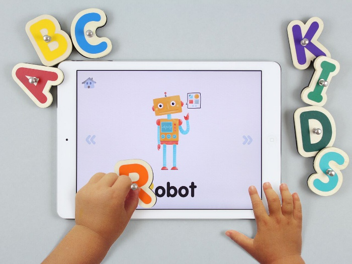 Smart tablet toys: Smart Letters and Numbers is designed to make spelling and math way more hands-on.