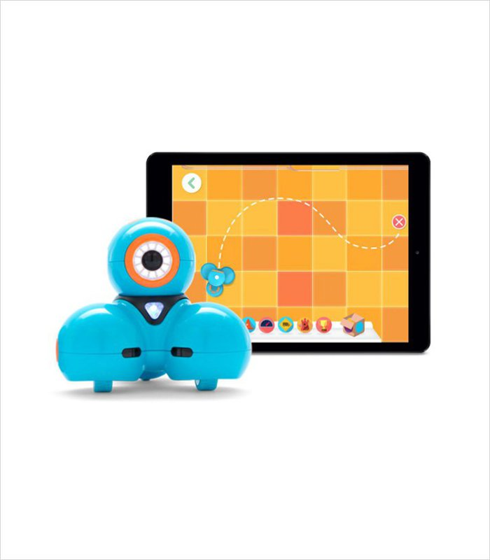 Smart tablet toy: This Wonder Workshop Dash Robot is a cool little bot that can help kids master the basics of programming.