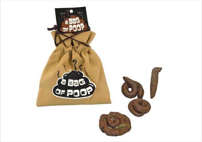Poop gifts for kids of all ages - bag of poop