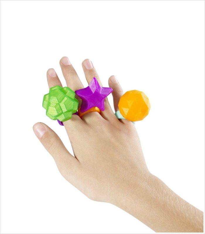 ThingMaker 3D Printed toy jewels