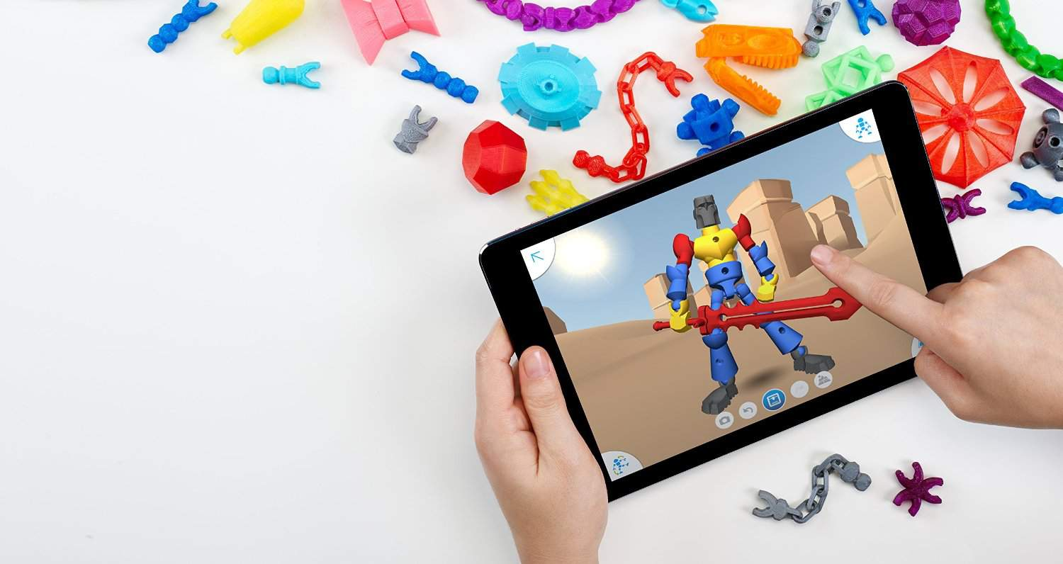 ThingMaker 3D Printer used with an iPad