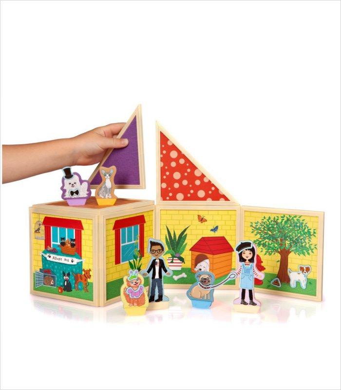 Build and Imagine magnetic dollhouse kit - pet portrait studio