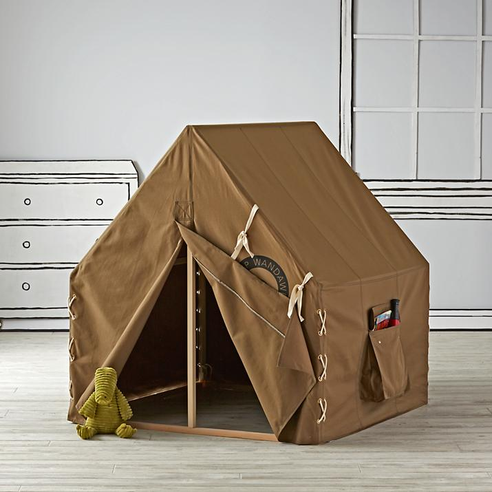 Indoor camping ideas for kids - Explorer playhouse tent