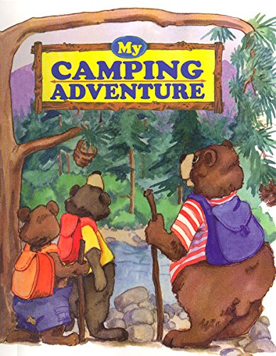 Indoor camping ideas for kids - My camping adventure book