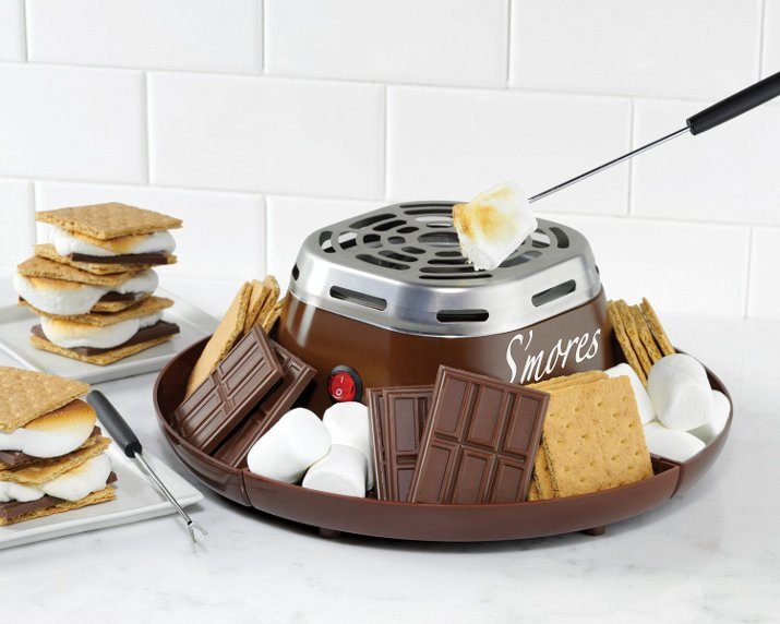 Indoor camping ideas for kids - S'Mores maker
