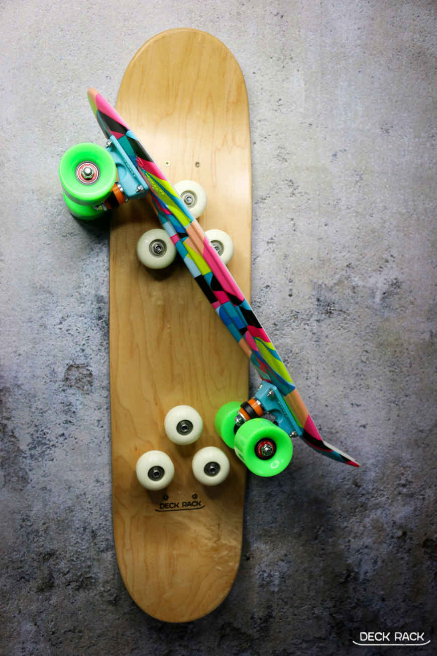 Cool stakeboard storage - Deckrack skateboard rack