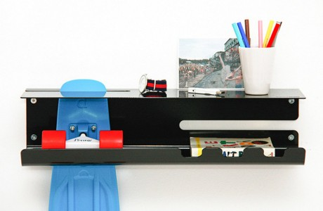 8 Gnarly Skateboard Storage Solutions for a Clutter Free Home