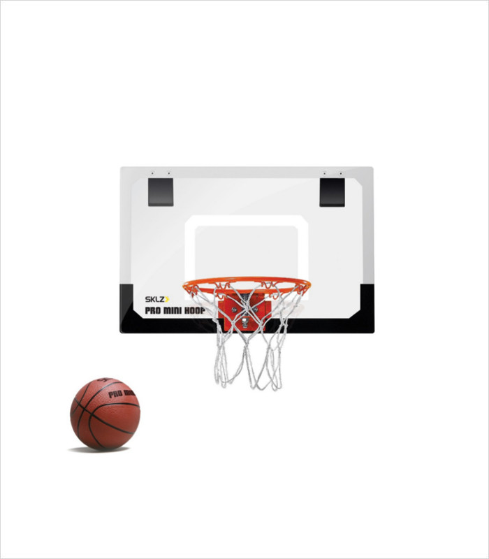 Basketball gifts for girls - SKLZ pro mini basketball hoop