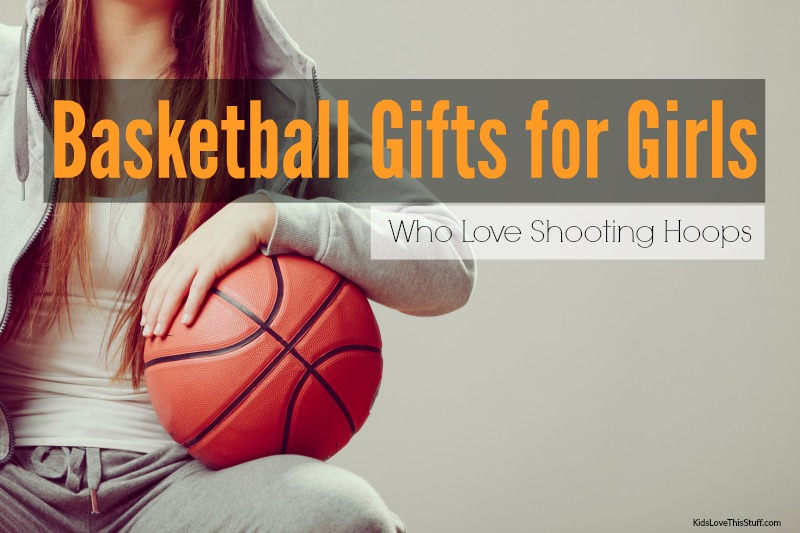 Basketball gifts for girls - Find the coolest basketball sneaks, gear to help improve her game, a cheeky little t-shirt number plus more.