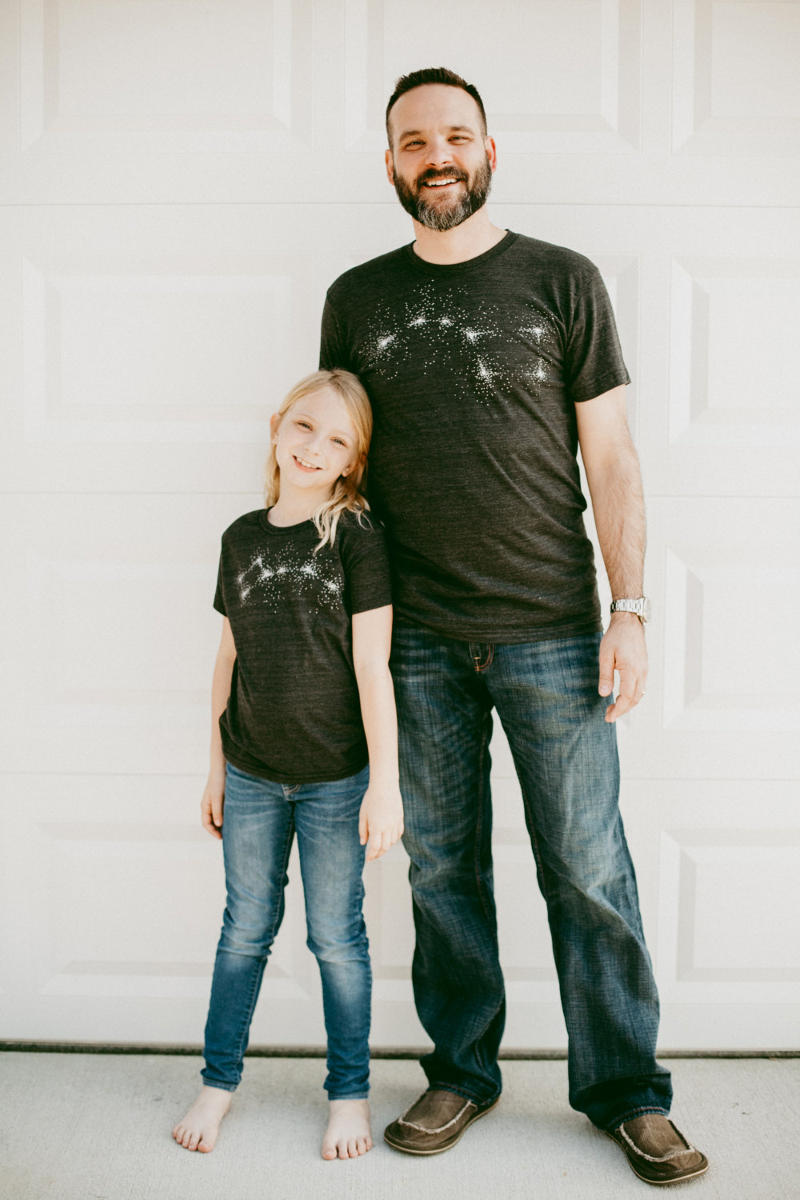 Father Daughter Shirts - Big Dipper Little Dipper Tees