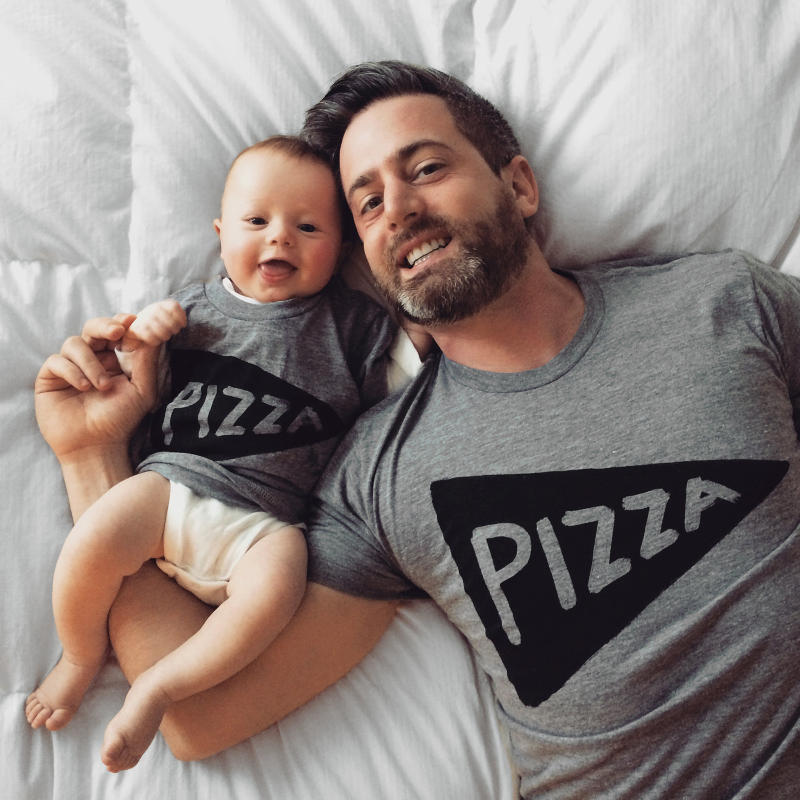Father Daughter Shirts - Father Child Pizza Tshirts