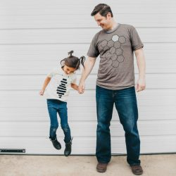 Father Daughter Shirts - Honey Bee and Hive T shirt Set  FP