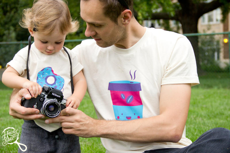Father Daughter Shirts - Team Coffee Matching Shirts