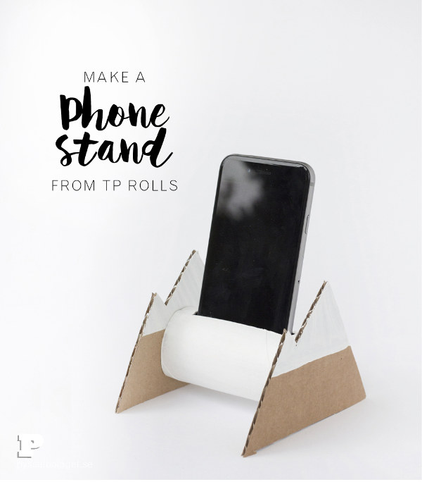 Things to make for fathers day - cardboard phone stand